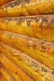 Macro of used plank house Royalty Free Stock Photo