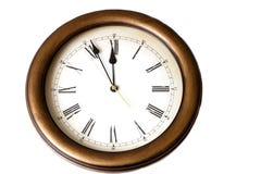Macro van antiek horloge Royalty-vrije Stock Foto's