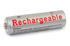 Macro van batterij Royalty-vrije Stock Foto's