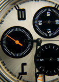Macro van chronometer royalty-vrije stock foto's