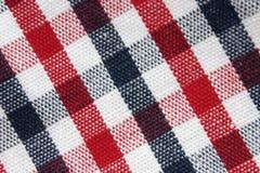 Macro van de kleurrijke doek van het netpatroon stock afbeelding
