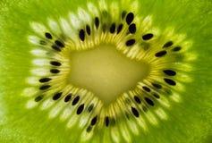 Macro van een Kiwifruit Stock Foto