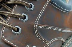 Macro van een schoen Stock Afbeelding
