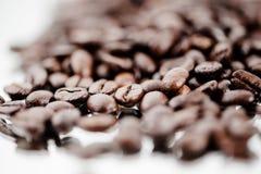 Macro van espressobonen Royalty-vrije Stock Foto's