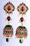 Macro van Gouden juwelen wordt geschoten die Royalty-vrije Stock Afbeeldingen