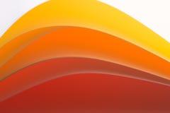 Macro van kleurrijke bladen van document Stock Foto