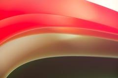 Macro van kleurrijke bladen van document Stock Afbeelding