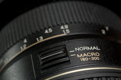Macro van lens stock foto