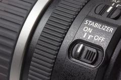 Macro van lens royalty-vrije stock afbeeldingen