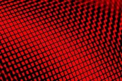 Macro vermelho da tela do indicador Imagem de Stock Royalty Free