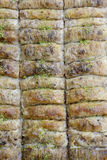 Macro view of baklava Stock Photography