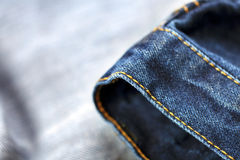 Jeans Macro Background Royalty Free Stock Images
