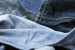 Jeans Macro Background Royalty Free Stock Photo