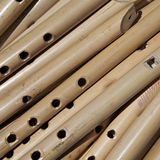 Macro view of flutes Stock Images