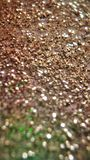 Golden Glitters Sparkling Royalty Free Stock Photos