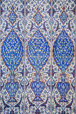Macro view of mihrab tiles in Rustem Pasa Mosque, Istanbul Royalty Free Stock Photography