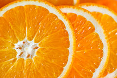 Macro view of orange Stock Photography
