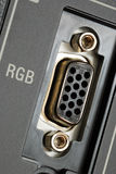 Macro view of the RGB video panel Royalty Free Stock Photos
