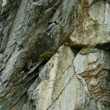 Macro view of stones. Stones that are broken for the action of extreme climate of the mountains Royalty Free Stock Photography