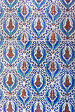 Macro view of tiles in Rustem Pasa Mosque, Istanbul Royalty Free Stock Photo