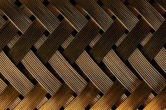 Macro vista della fibra dell'oro fotografia stock libera da diritti