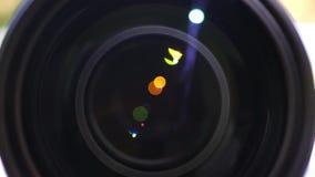 Macro vista sull'obiettivo archivi video