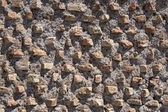 Macro vue de mur Image libre de droits