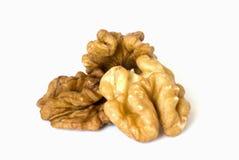 Macro walnuts Stock Photo