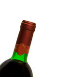 Macro of wine bottle Royalty Free Stock Photo