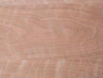 Macro of Wood Veneer Royalty Free Stock Photo