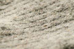 Macro wool fabric Stock Photography