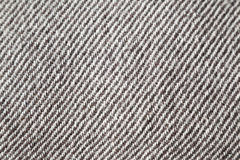 Macro of woolen black and white texture Stock Photos