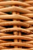 Macro of woven basket
