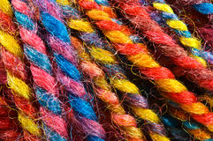 Macro yarn Stock Photos