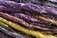 Macro yarn Stock Images