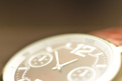 Macro zoomed watches Stock Images