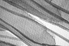 Macro Zwart-witte Waterverfdetails en Texturen royalty-vrije stock afbeeldingen