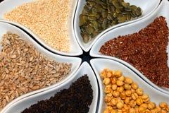 Macrobiotic buffet. A variety of macrobiotic food Stock Photo
