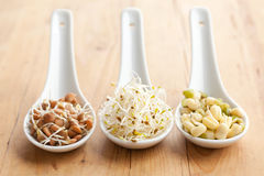 Macrobiotic food Stock Photo
