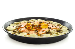 Macrobiotic vegetable pie Royalty Free Stock Photography