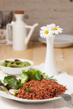 Macrobiotic vegetarian meal Stock Photos