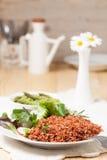 Macrobiotic vegetarian meal Royalty Free Stock Photography
