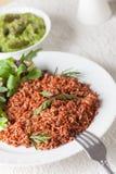 Macrobiotic vegetarian meal Stock Photo