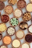 Macrobiotische Natuurlijke voeding Royalty-vrije Stock Afbeeldingen