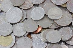 MacroCoins Fotografia Stock