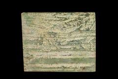 Macrodatolite scarn minerale steen op een zwarte achtergrond royalty-vrije stock foto's