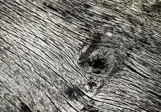 Macrodetail van oud doorstaan hout Stock Foto