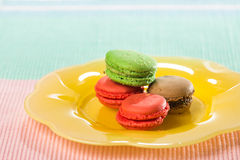 Macroons Stock Image