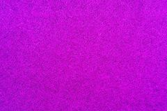 Macrophoto of velvet fabric of lilac violet color stock image
