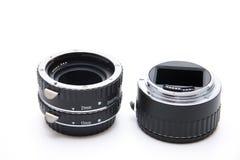 Macrorings для камеры Стоковое Изображение